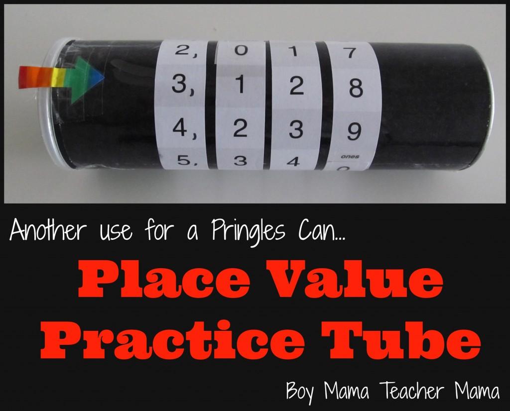 Boy Mama Teacher Mama: Place Value Practice Tube