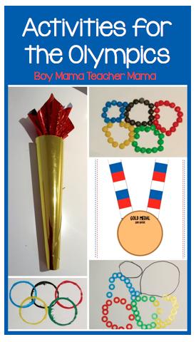 Boy Mama Teacher Mama   Activities for the Olympics