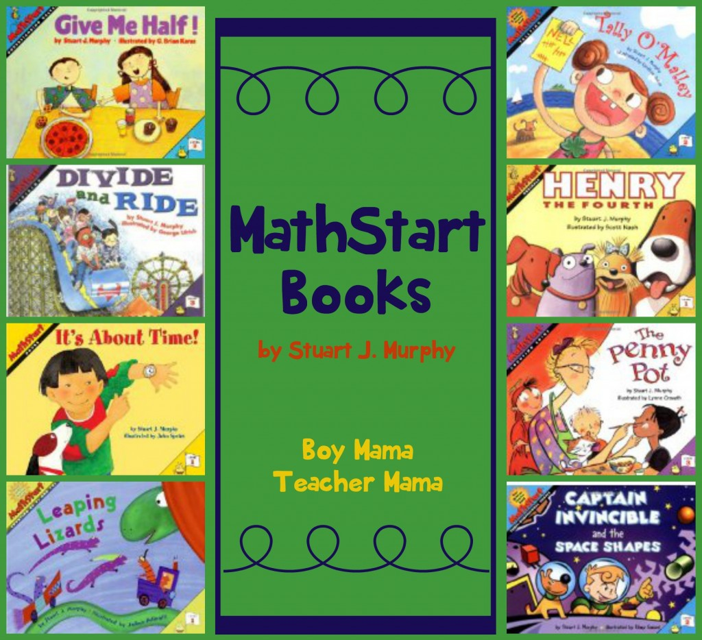 Boy Mama Teacher Mama  MathStart Books