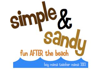 Boy Mama Teacher Mama | Simple and Sandy