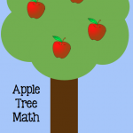 Boy Mama Teacher Mama: Apple Tree Math Game