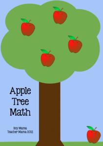 Boy Mama Teacher Mama: Apple Tree Math Game