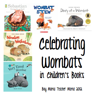 Boy Mama Teacher Mama: Celebrating Wombats in Children's Books