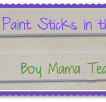 Boy Mama Teacher Mama: 7 Uses for Paint Sticks in the Classroom