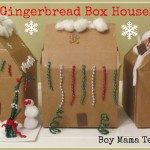 Boy Mama Teacher Mama: Gingerbread Box House