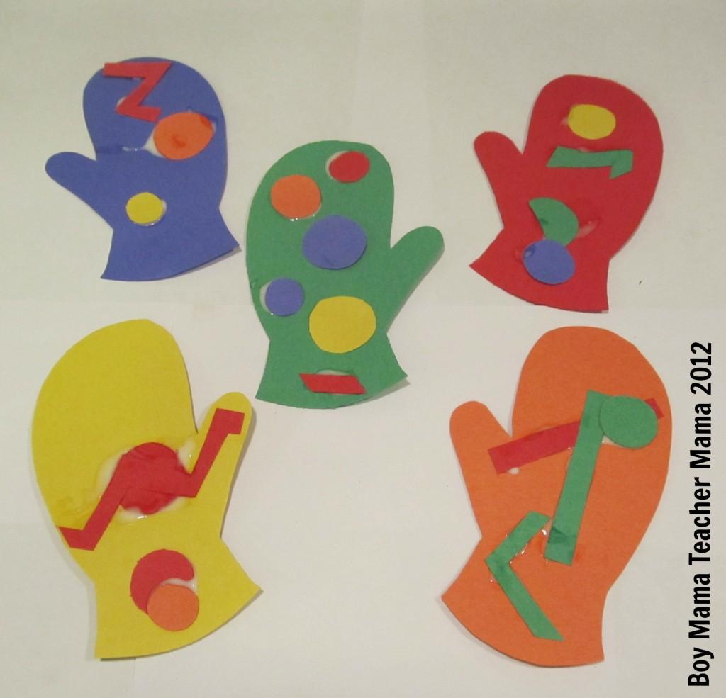 Boy Mama Teacher Mama | Five Warm Mittens
