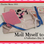 Boy Mama Teacher Mama: Mail Myself to you Valentine's Project