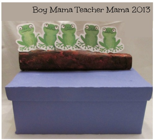 Boy Mama Teacher Mama | 5 Green and Speckled Frogs