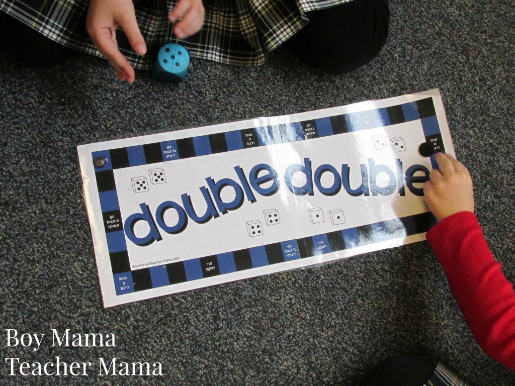 Boy Mama Teacher Mama  Double Double Game