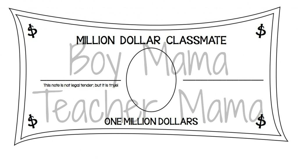 Boy Mama Teacher Mama  Million Dollar Classmate