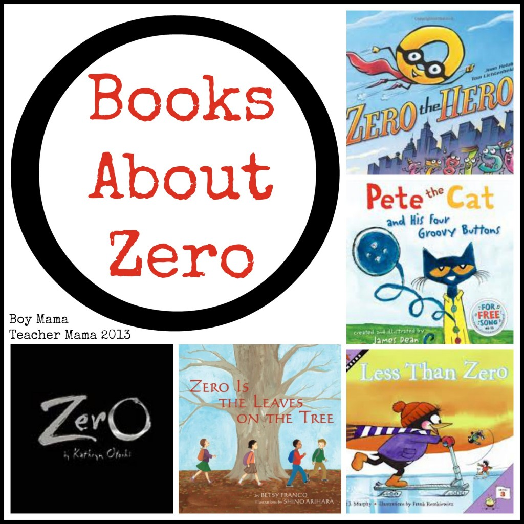 Boy Mama Teacher Mama | Books About Zero