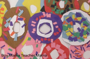 Boy Mama Teacher Mama | Activities for the Donut Chef