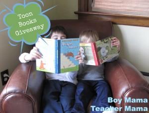 Boy Mama Teacher Mama | Toon Books Giveaway