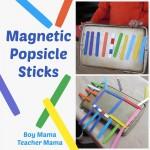 Boy Mama Teacher Mama   Magnet Popsicle Sticks