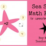 Boy Mama Teacher Mama: Sea Star Math Facts