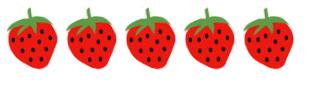 Boy Mama Teacher Mama: Strawberry Counting Cards