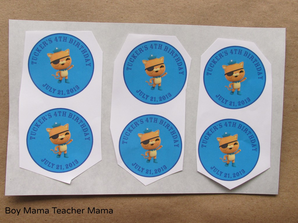 Boy Mama: Octonauts Birthday Magnets
