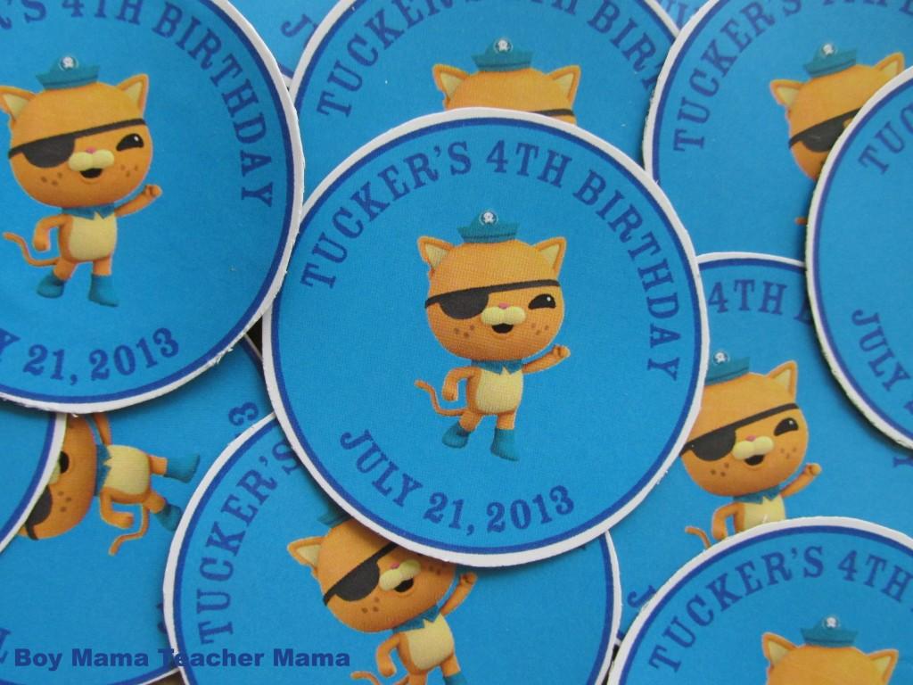 magnetsBoy Mama: Octonauts Birthday Magnets