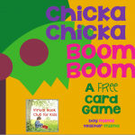 Boy Mama Teacher Mama: FREE Chicka Chicka Boom Boom Card Game