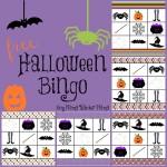 Boy Mama Teacher Mama | FREE Halloween Bingo Game