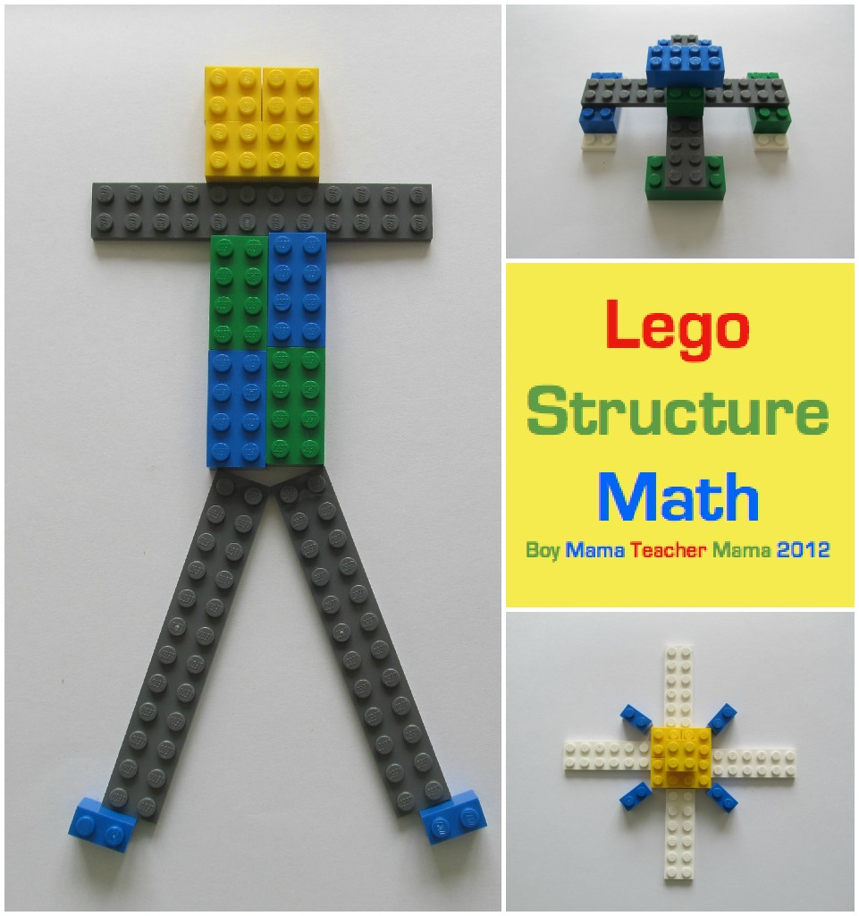 Boy Mama Teacher Mama | Lego Structure Math