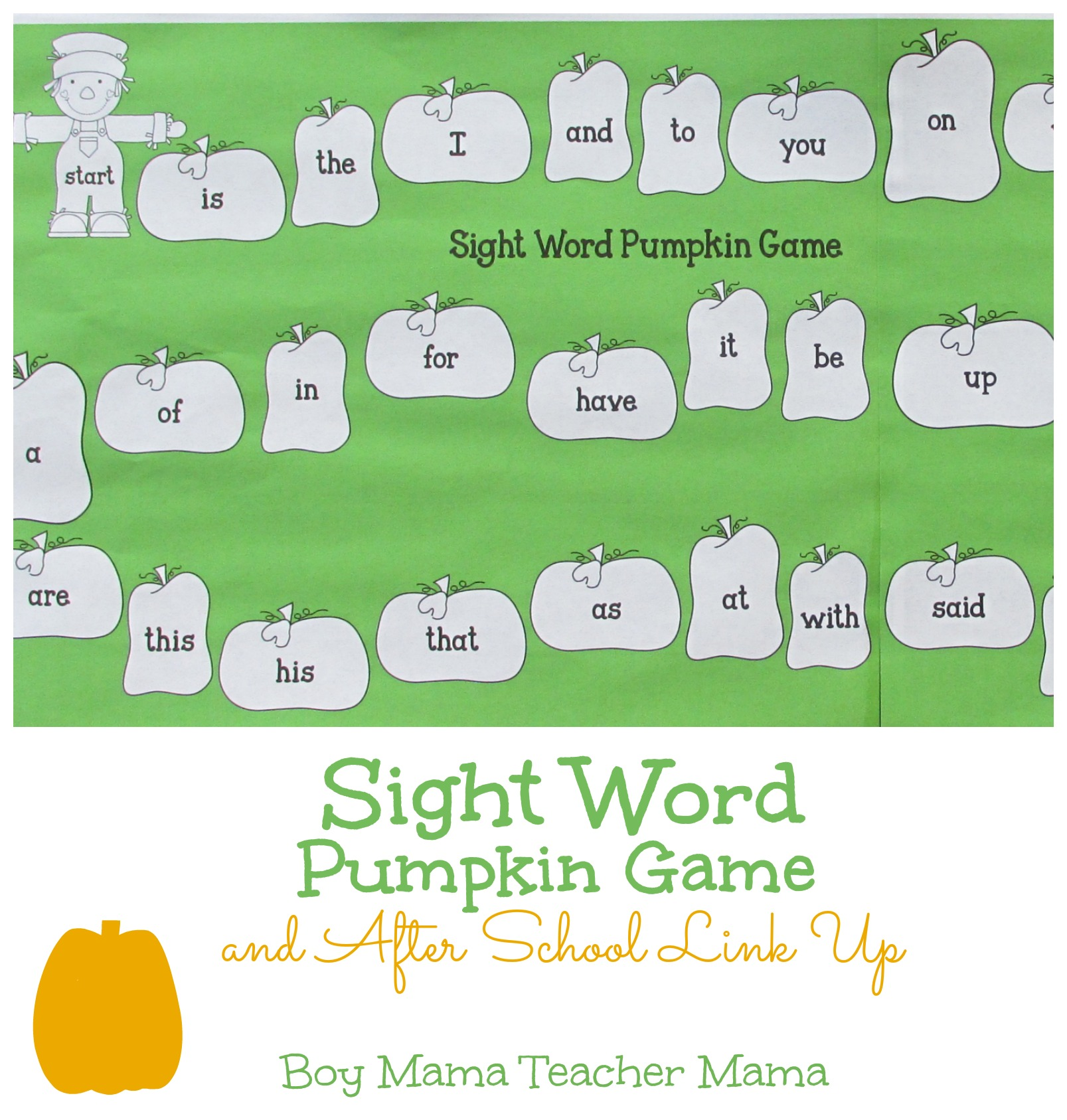 Teacher Mama: 5 Simple Game Boards For Sight Word Practice