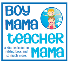 Boy Mama Teacher Mama Logo