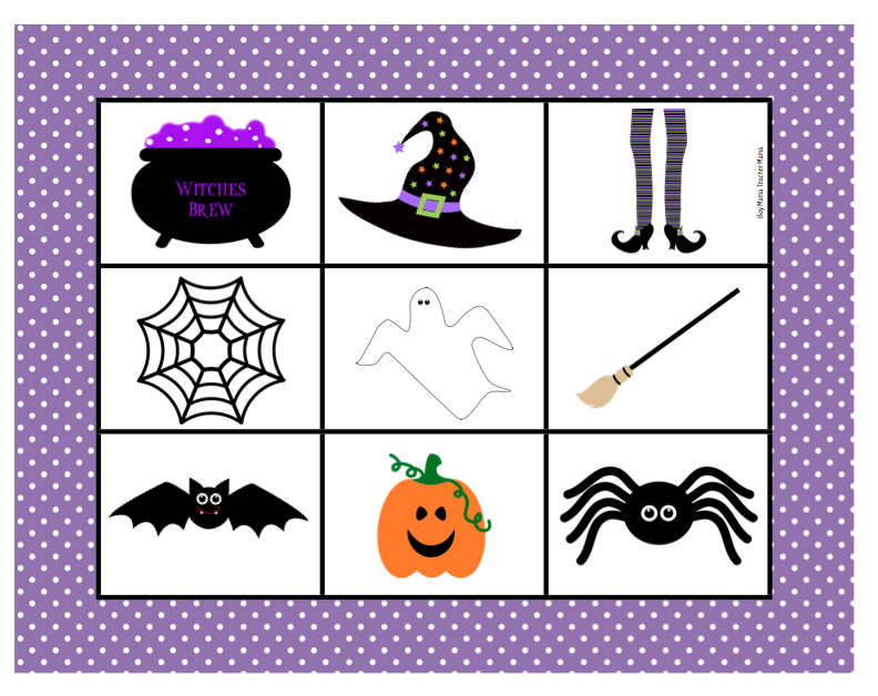 Boy Mama Teacher Mama | FREE Halloween Bingo Game shot 2013-10-03 at 8.13.49 PM