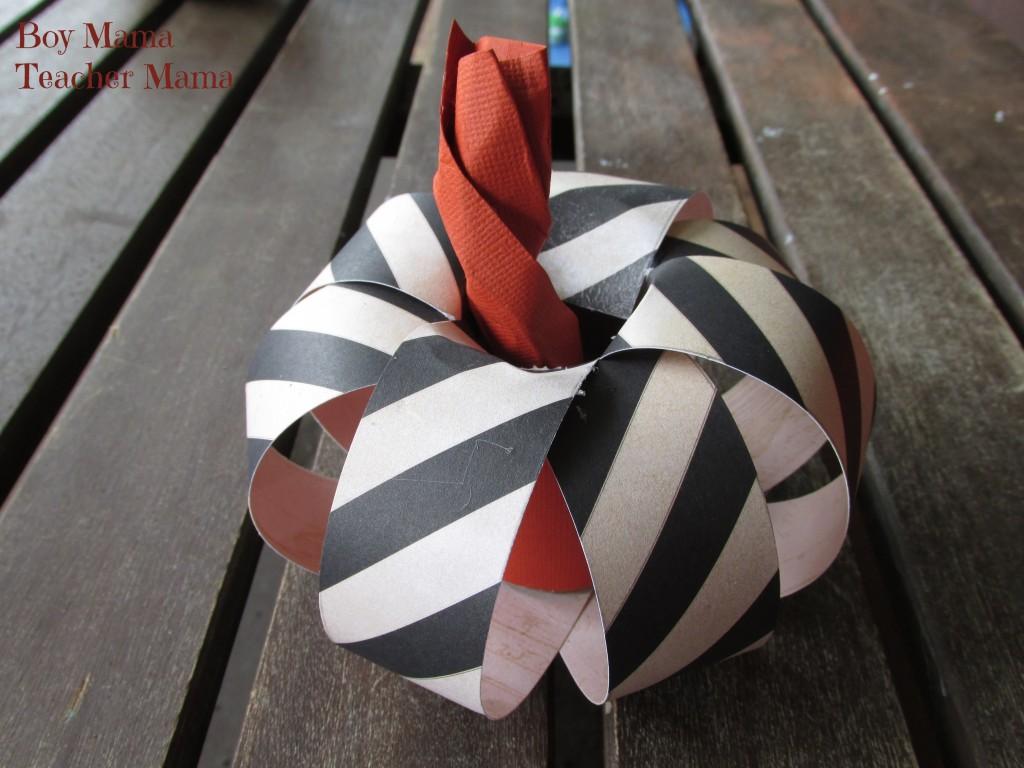 Boy Mama Teacher Mama   Fancy Paper Pumpkins