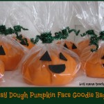 Boy Mama Teacher Mama   Play Dough Pumpkin Face Goodie Bags