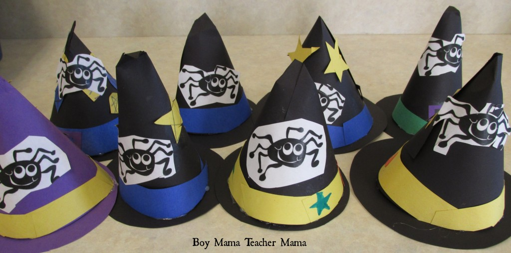 Boy Mama Teacher Mama | Witch's Hat Glyph sort 3