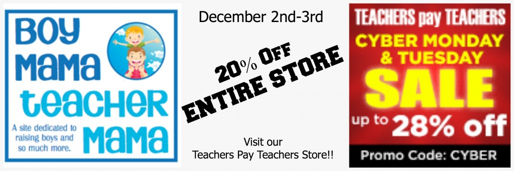 Boy Mama Teacher Mama  Teachers Pay Teachers Store Sale