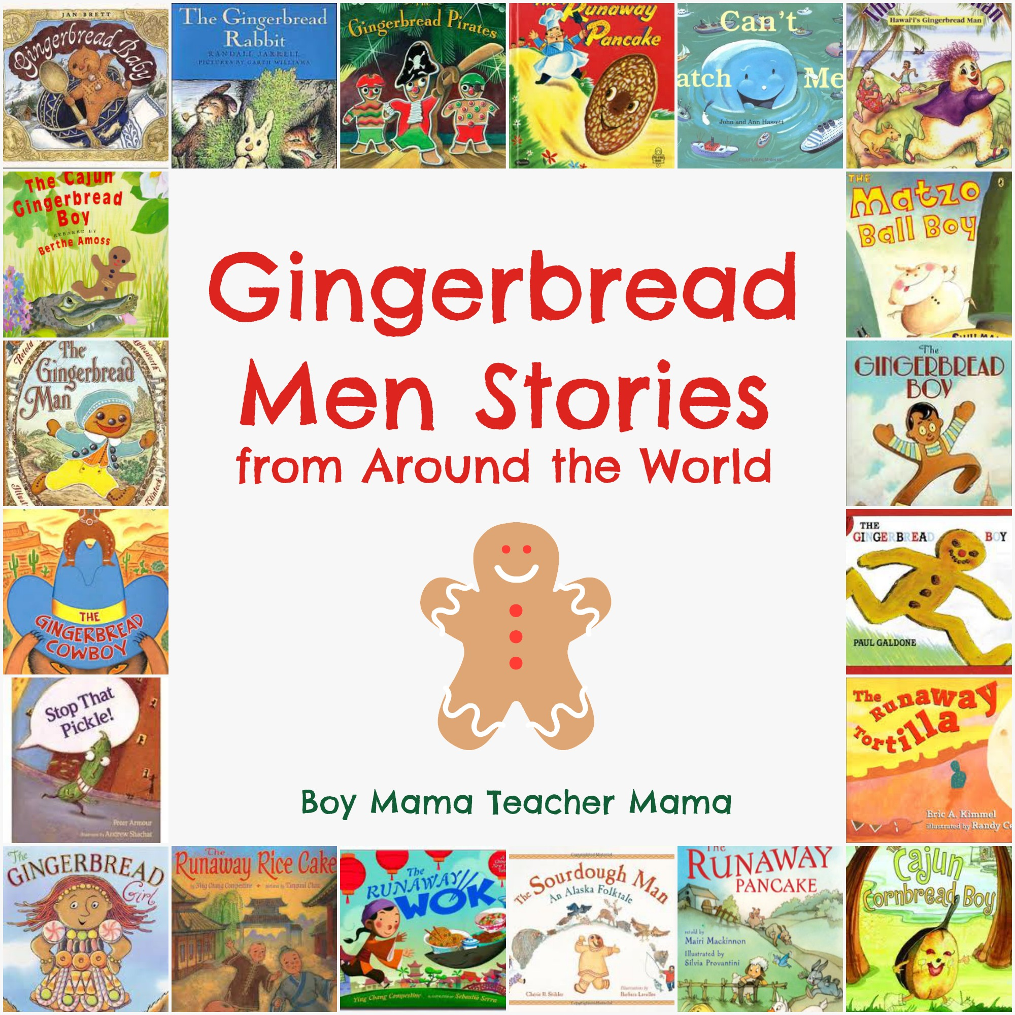 Boy Mama Teacher Mama | Gingerbread Men Tales from Around the World