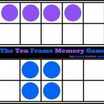 Boy Mama Teacher Mama | The Ten Frame Memory Game