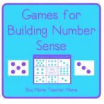 Boy Mama Teacher Mama: Number Sense Games