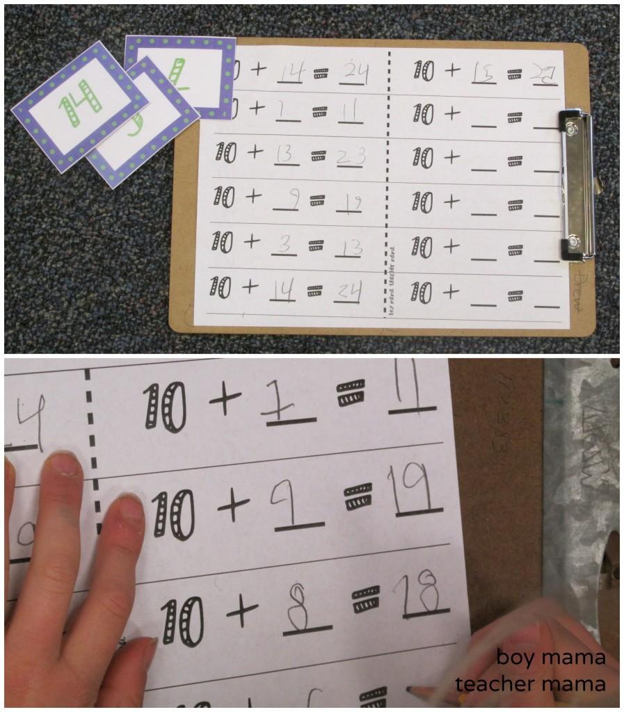 Boy Mama Teacher Mama | Ten Plus Game