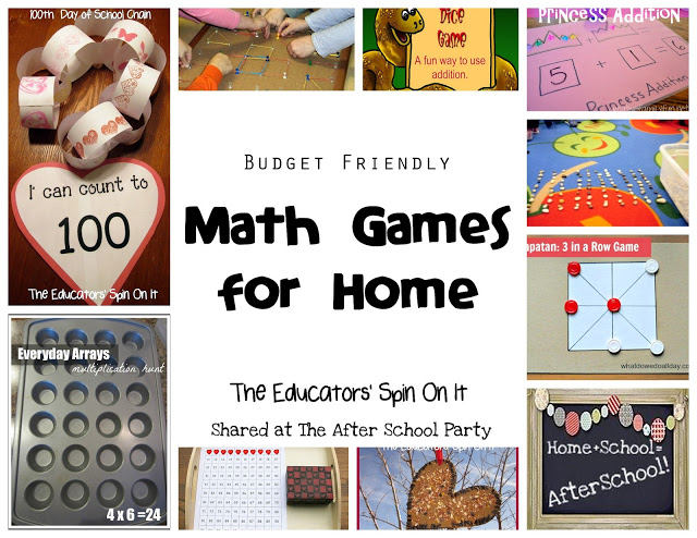 Math Games from AFter School