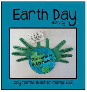 Boy Mama Teacher Mama | Earth Day Activity