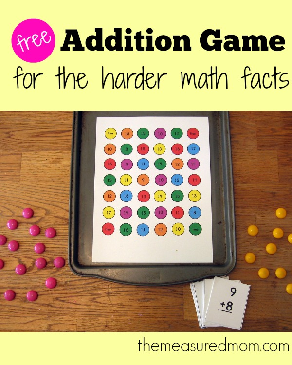 free-addition-game-for-the-harder-math-facts