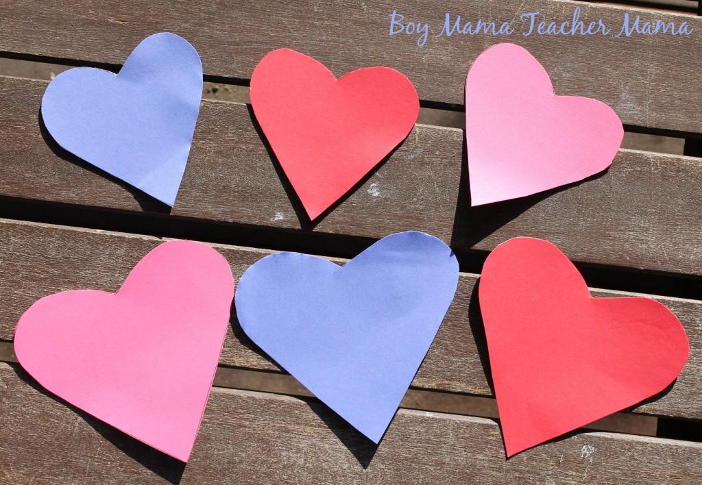 Boy Mama Teacher Mama  Five Little Valentines6