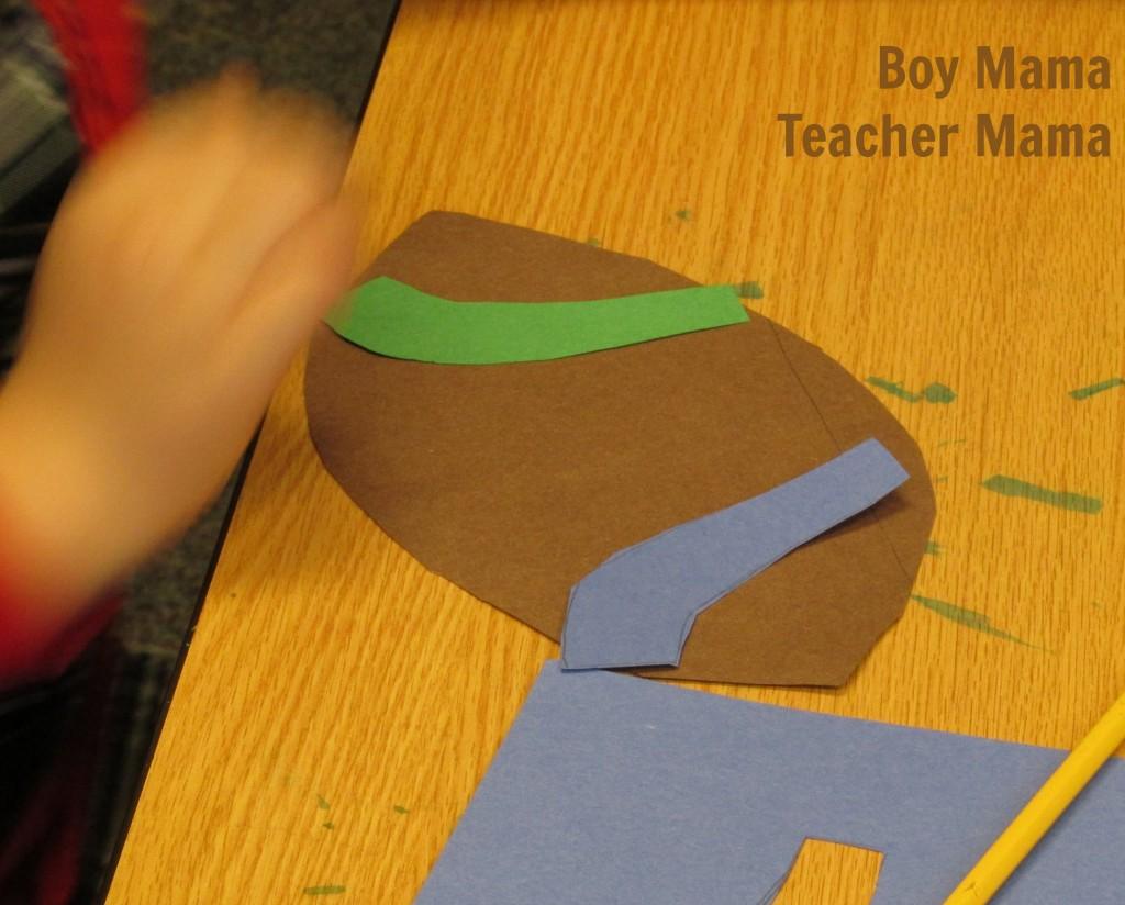 Boy Mama Teacher Mama  Football Glyph 2