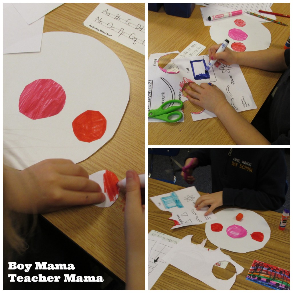 Boy Mama Teacher MamaClown Glyph and FREE Circus Word Search (3)