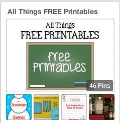 Boy Mama Teacher Mama   FREE Printables Pinterest Board