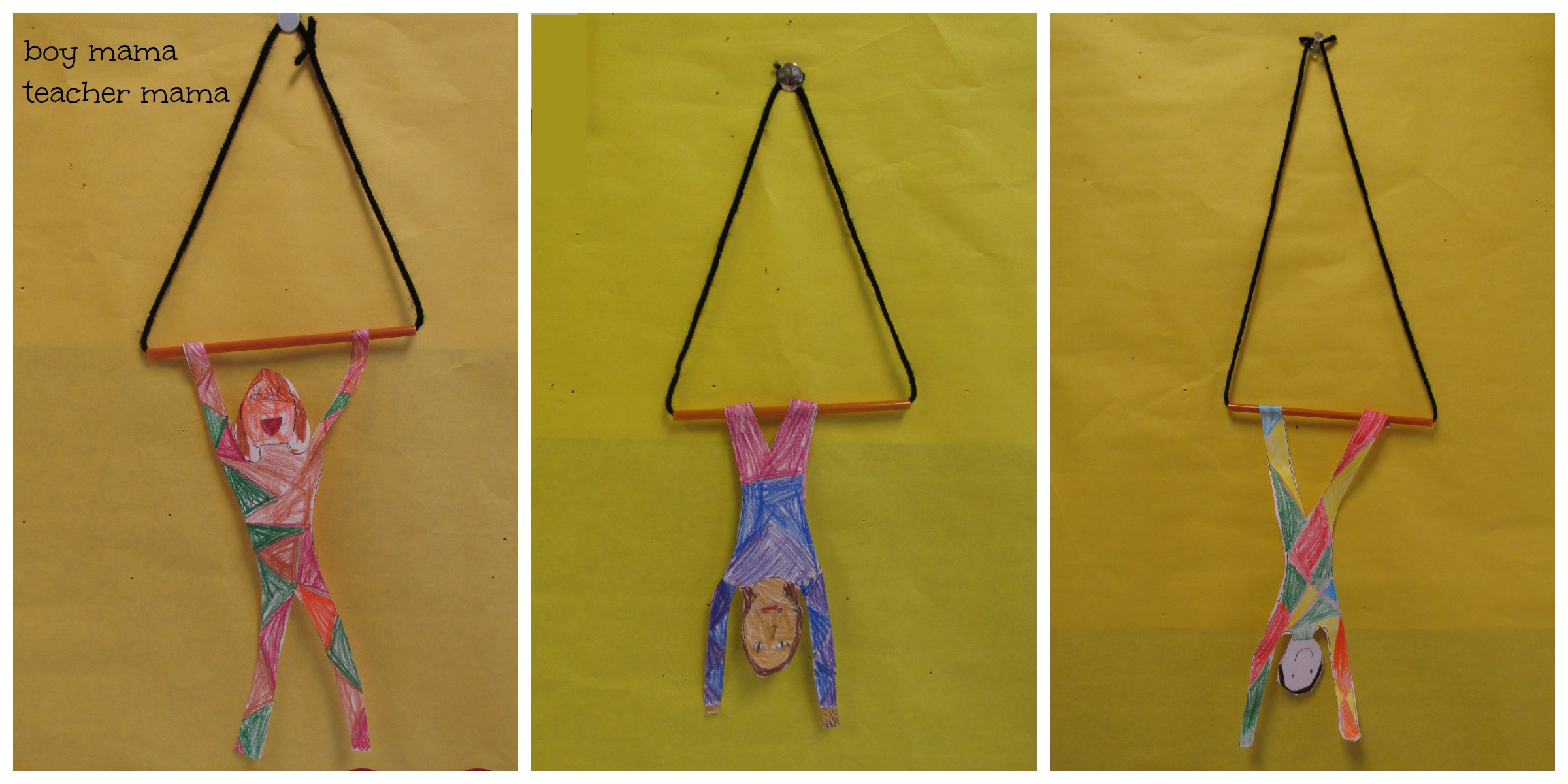 Teacher Mama Circus Craft Trapeze Artist Boy Mama Teacher Mama