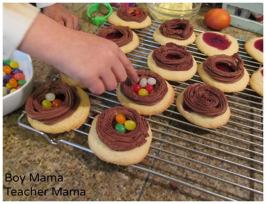 Boy Mama Teacher Mama  Bird's Nest Cookies 6.jpg