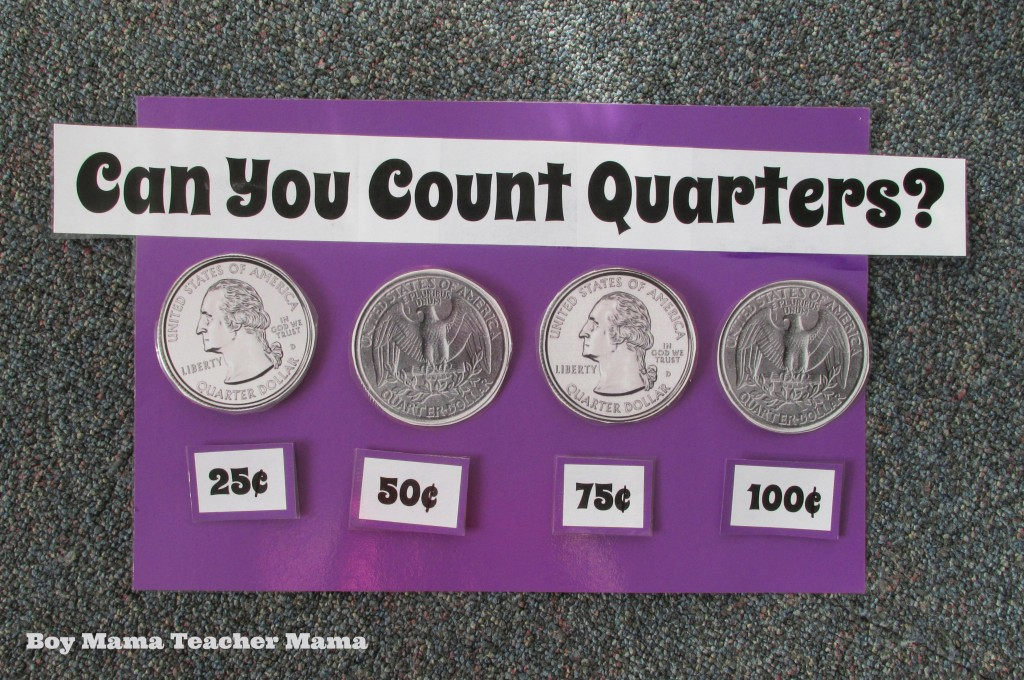 Boy Mama Teacher Mama  Counting Quarters 1.jpg