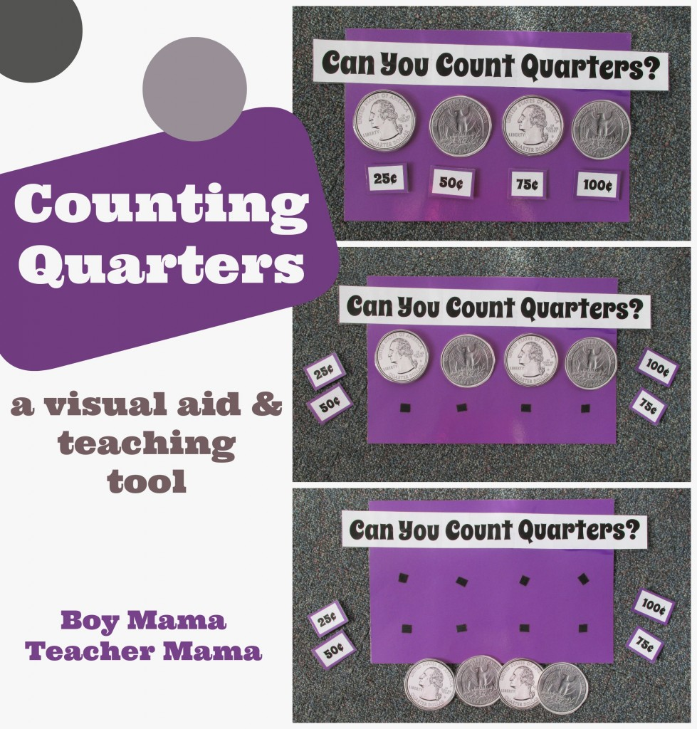 Boy Mama Teacher Mama  Counting Quarters.jpg