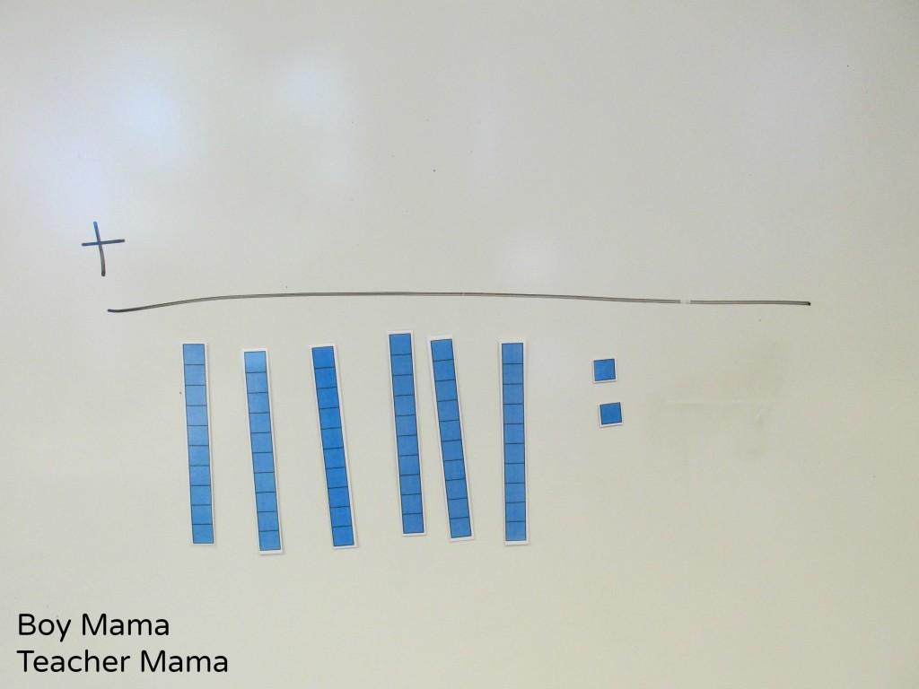 Boy Mama  Teacher Mama  Magnetic Place Value Blocks 10