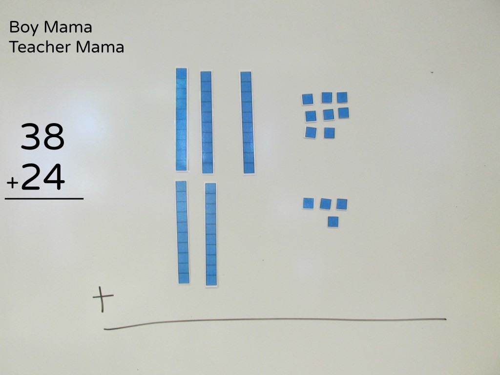 Boy Mama  Teacher Mama  Magnetic Place Value Blocks 5