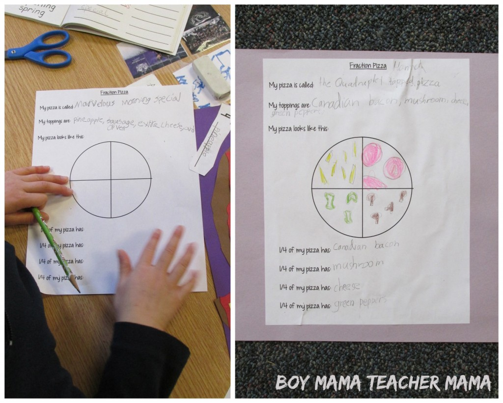 Boy Mama Teacher Mama  Teaching Fractions with Pizza 8.jpg